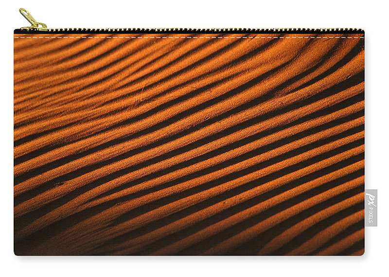 Africa Carry-all Pouch featuring the photograph Sand Ripple by Alistair Lyne