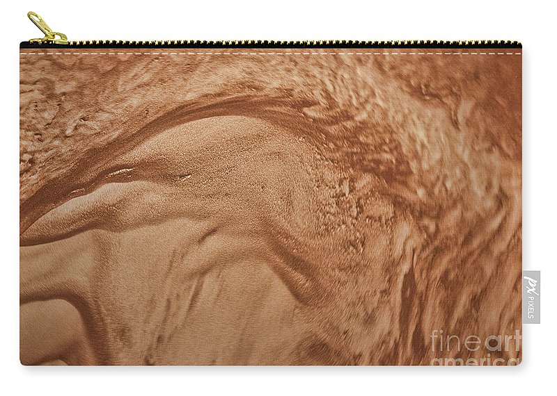 Sandstorm Carry-all Pouch featuring the photograph Sandstorm 2 by Crystal Nederman