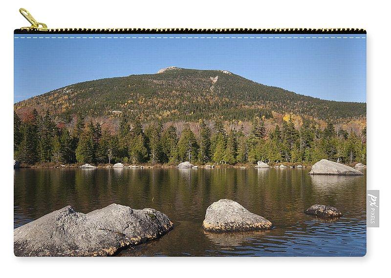 Sandy Stream Carry-all Pouch featuring the photograph Sandy Stream Fall by Glenn Gordon