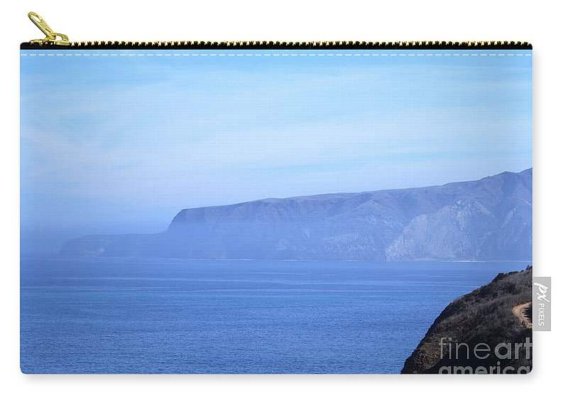 Cruz Carry-all Pouch featuring the photograph Santa Cruz Island by Henrik Lehnerer
