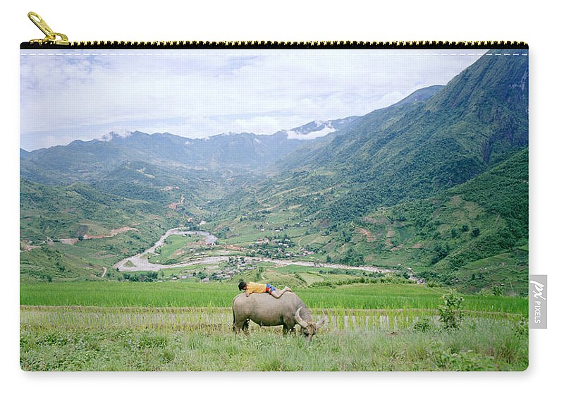 Asia Carry-all Pouch featuring the photograph Sapa by Shaun Higson