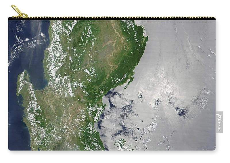 Geography Carry-all Pouch featuring the photograph Satellite Image Of The Northern by Stocktrek Images