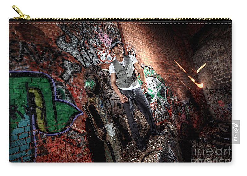 Yhun Suarez Carry-all Pouch featuring the photograph Saurabh3 by Yhun Suarez