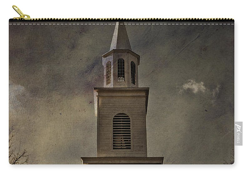 Steeple Carry-all Pouch featuring the photograph Say A Little Prayer For Me by Trish Tritz