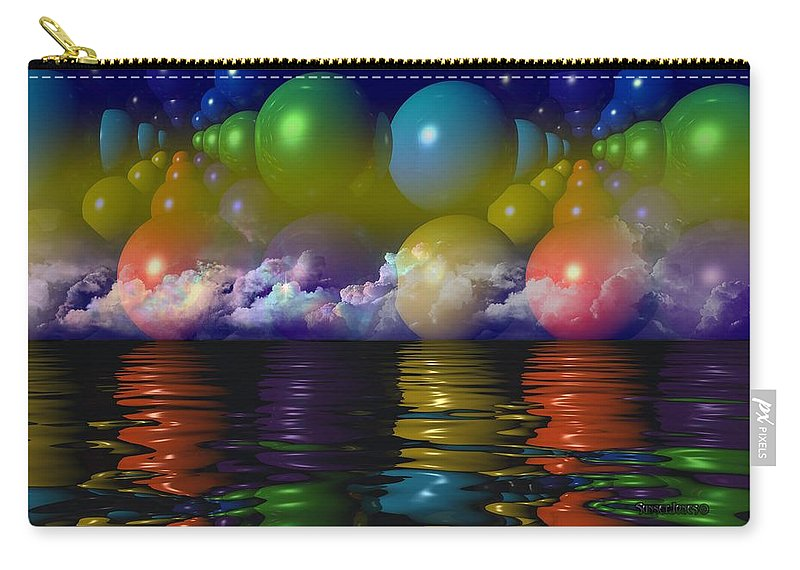 Education Carry-all Pouch featuring the digital art Science by Robert Orinski