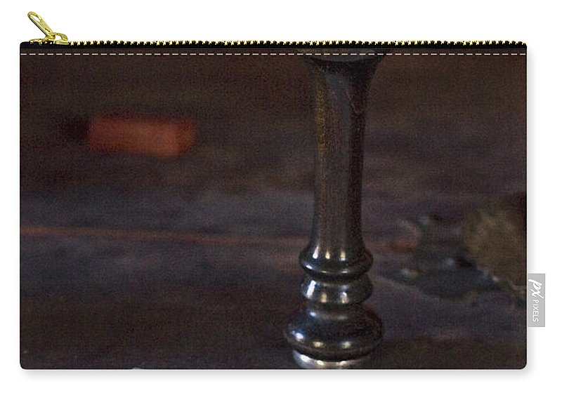 Fort St. Jean Baptiste Carry-all Pouch featuring the photograph Sealed by Kim Henderson