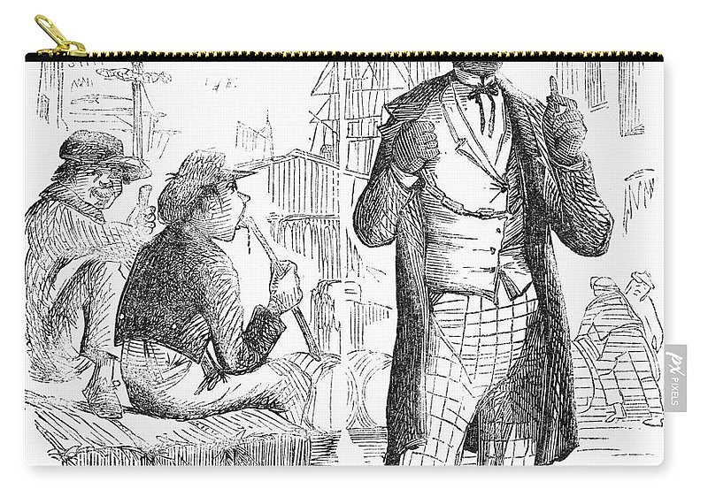 1861 Carry-all Pouch featuring the photograph Secession Crisis, 1861 by Granger