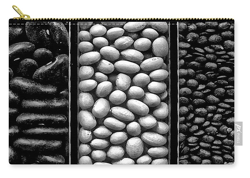 Seeds Canvas Prints Carry-all Pouch featuring the photograph Seeds by Danuta Bennett