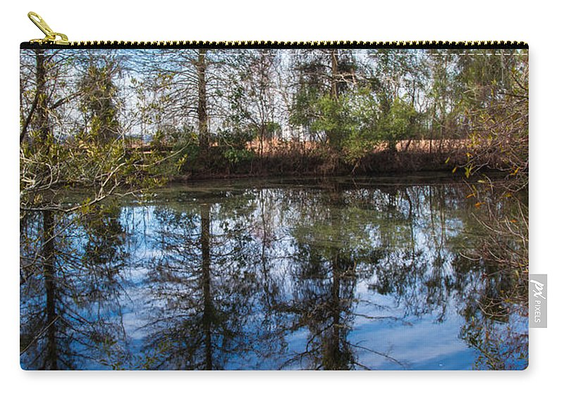 See Carry-all Pouch featuring the photograph Seeing Double by Scott Hervieux