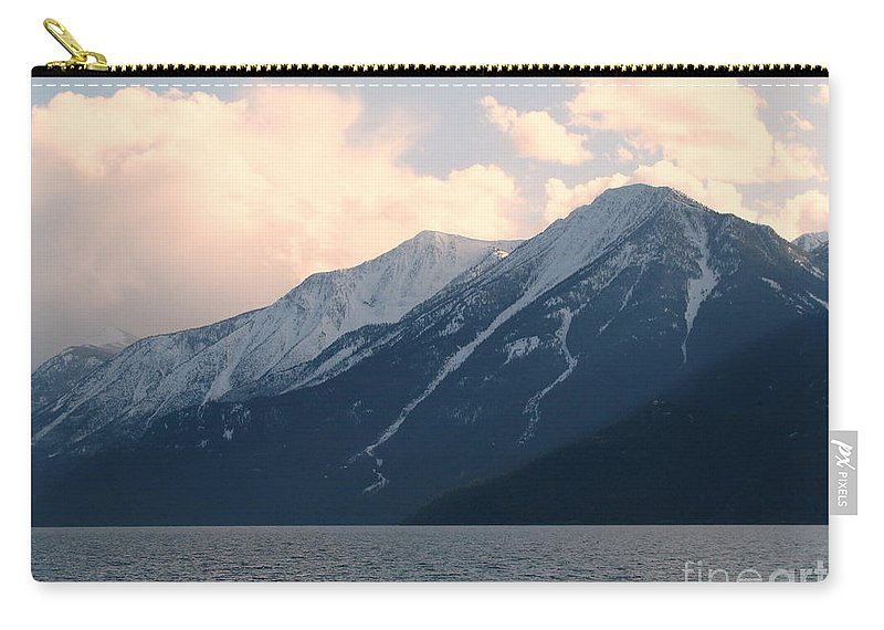 Selkirk Carry-all Pouch featuring the photograph Selkirk Mountains by Leone Lund