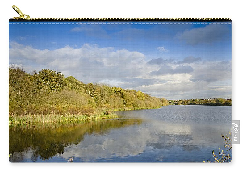 Lake Carry-all Pouch featuring the photograph Sense Of Tranquility by Nick Field