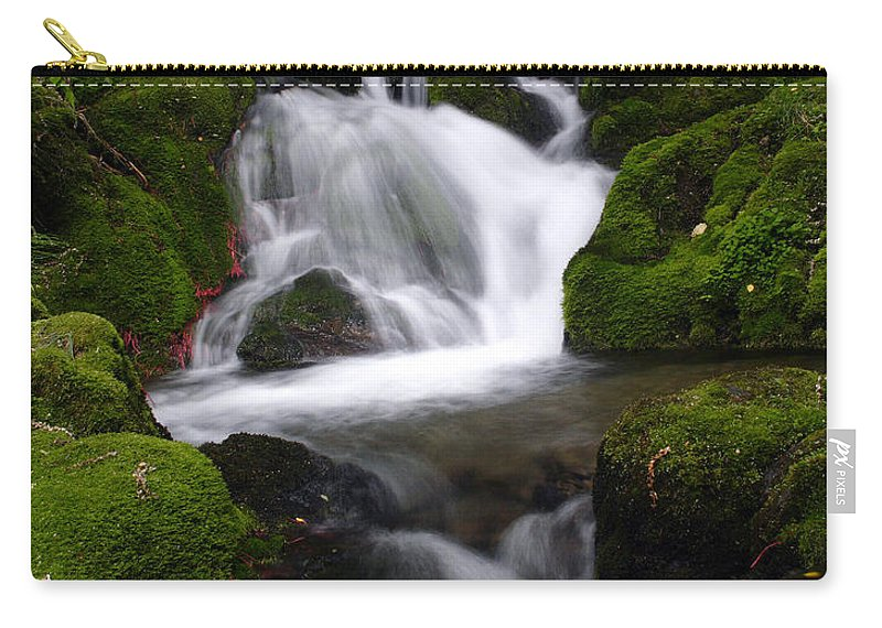 Doug Lloyd Carry-all Pouch featuring the photograph Series Of Falls by Doug Lloyd