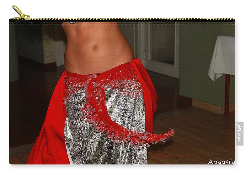 Belly Dancer Carry-all Pouch featuring the photograph Sexy Dancer by Augusta Stylianou