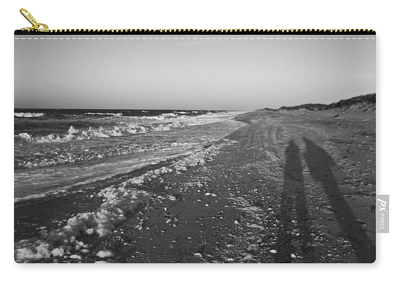 Shackleford Carry-all Pouch featuring the photograph Shackleford Beach Morning by Betsy Knapp