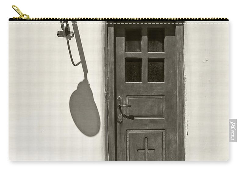 Shadows Carry-all Pouch featuring the photograph Shadow Games by Joana Kruse