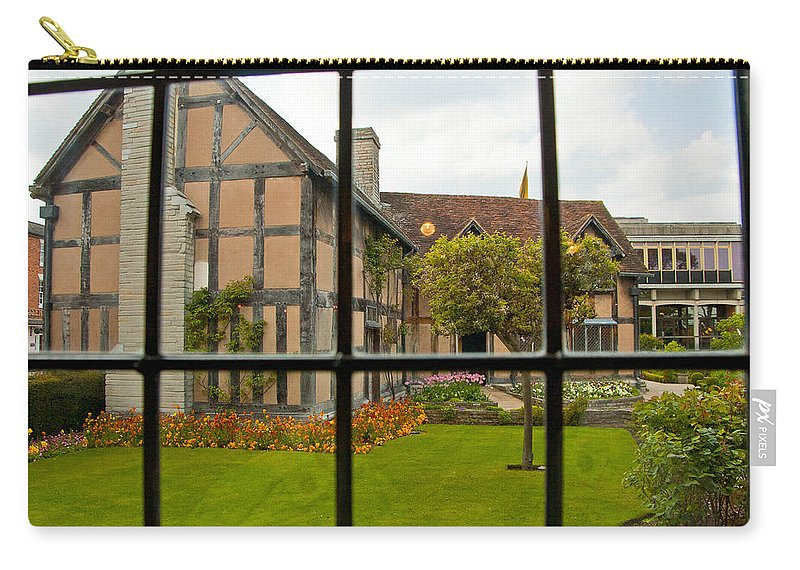 Stratford On Avon Carry-all Pouch featuring the photograph Shakespeares Home by Jon Berghoff