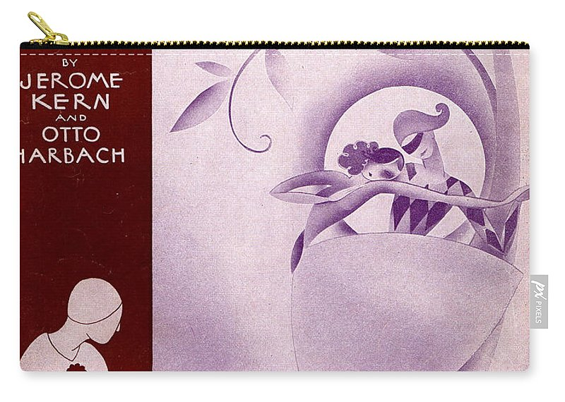 Classic Carry-all Pouch featuring the photograph She Didn't Say Yes by Mel Thompson