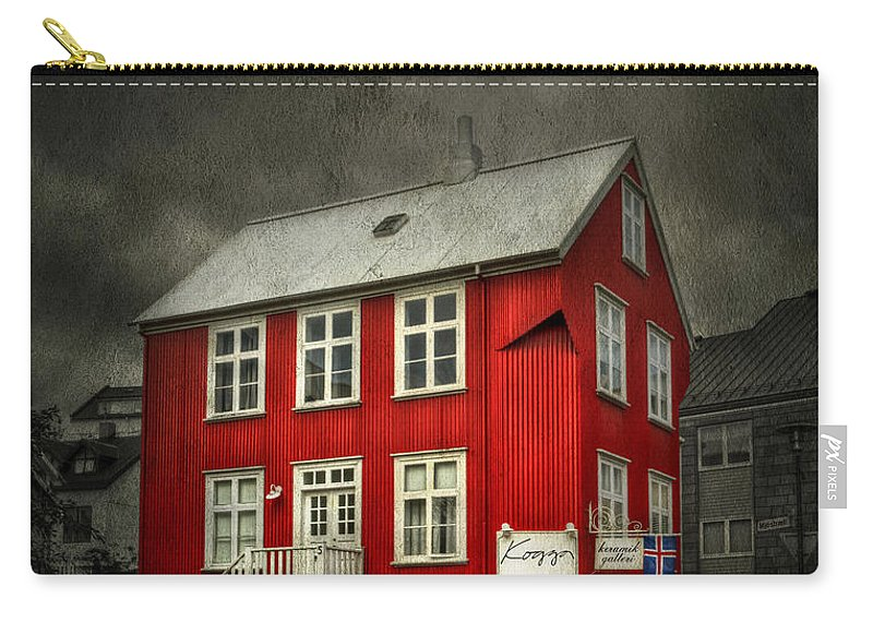 Reykjavik Carry-all Pouch featuring the photograph Shine On Me by Evelina Kremsdorf