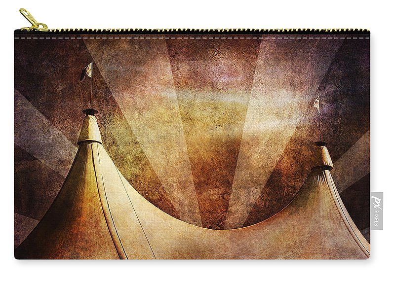 Circus Carry-all Pouch featuring the photograph Showtime by Andrew Paranavitana