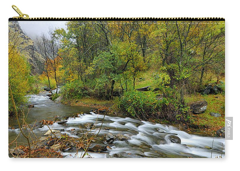 River Carry-all Pouch featuring the photograph Sierra Nevada by Guido Montanes Castillo