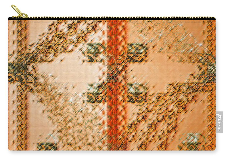 Orange Carry-all Pouch featuring the photograph Simple Complexiites by Gwyn Newcombe