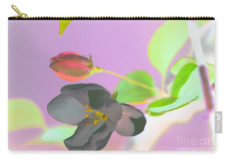 Flower Carry-all Pouch featuring the photograph Simplicity by Optical Playground By MP Ray