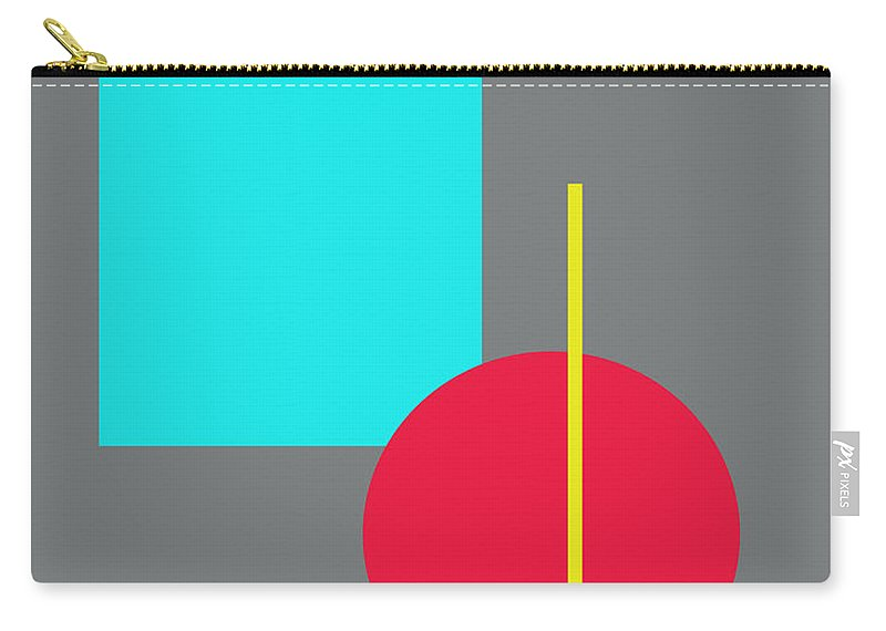 Interior Design Carry-all Pouch featuring the digital art Simplicity by Paulette B Wright