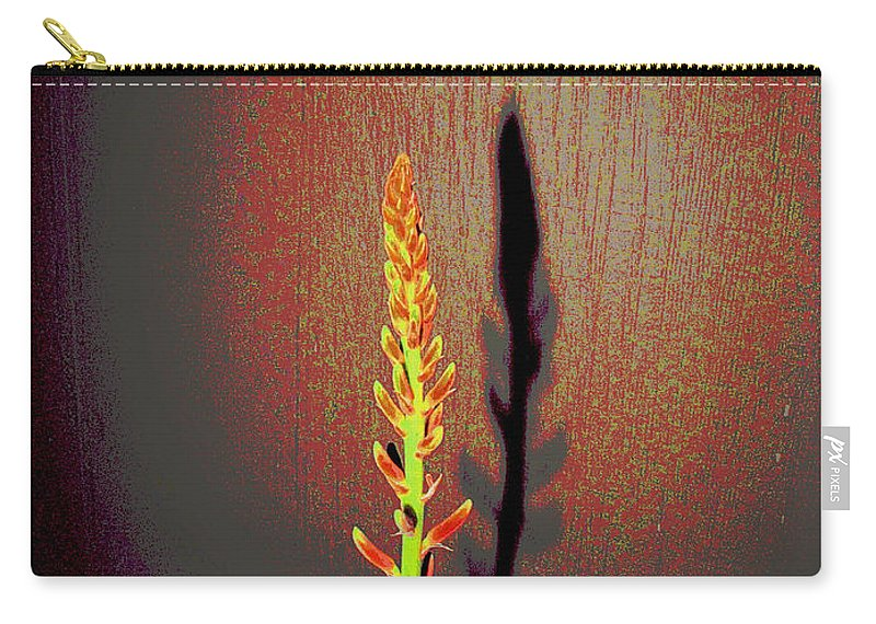 Aloe Carry-all Pouch featuring the photograph Simply Aloe by Joyce Dickens