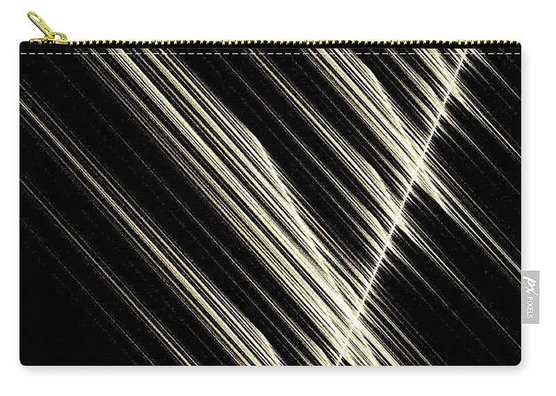 Simply Carry-all Pouch featuring the digital art Simply Mathematical by Maria Urso