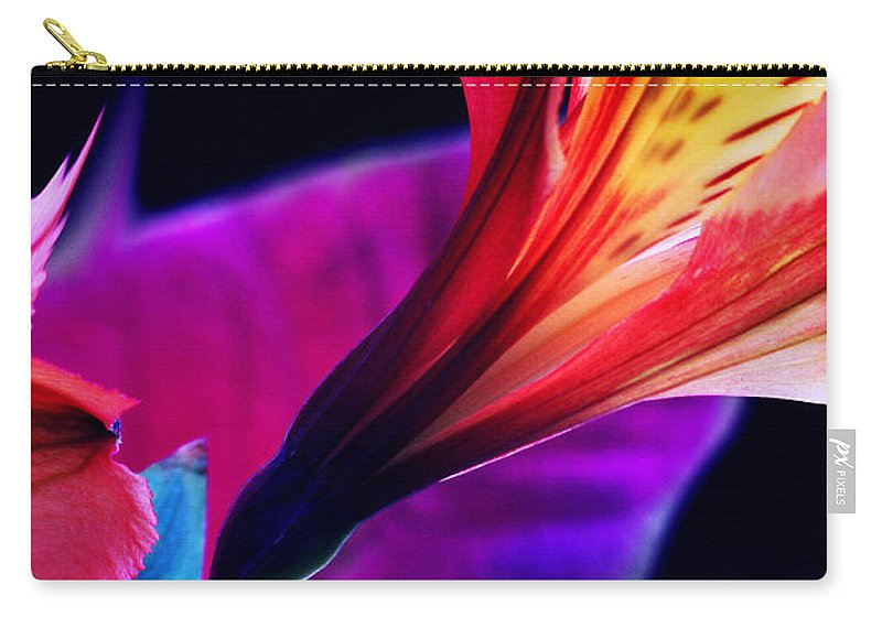 Flowers Carry-all Pouch featuring the photograph Sinless... by Arthur Miller