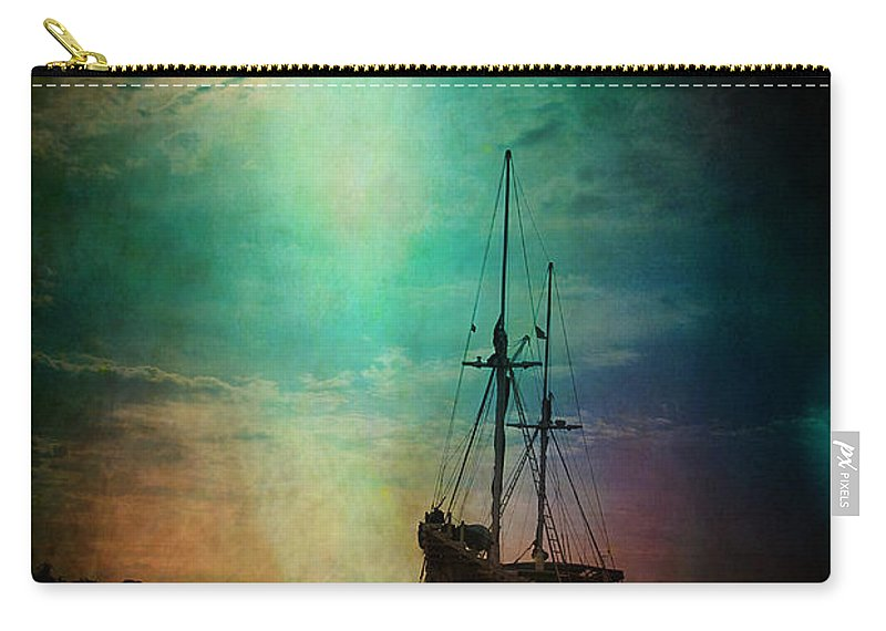 Yhun Suarez Carry-all Pouch featuring the photograph Siren by Yhun Suarez