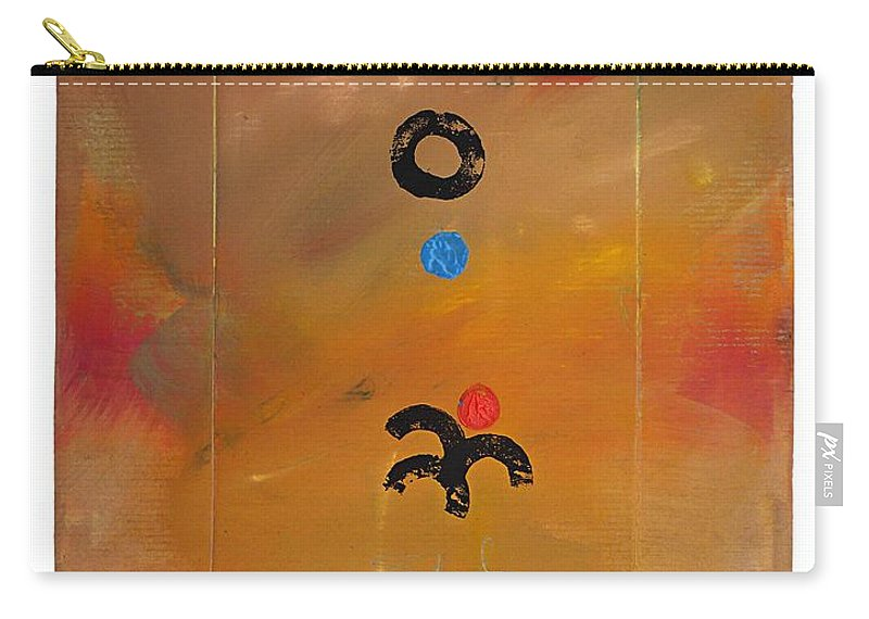 African Carry-all Pouch featuring the painting Sirocco by Charles Stuart