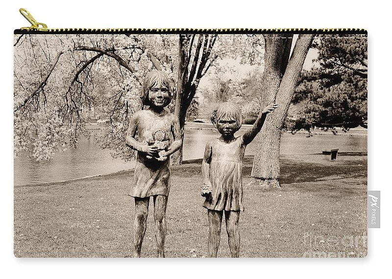 Monument Carry-all Pouch featuring the photograph Sisters by Kathleen Struckle