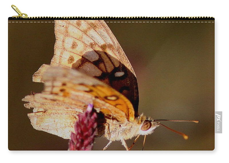 Carry-all Pouch featuring the photograph Skipper by Travis Truelove
