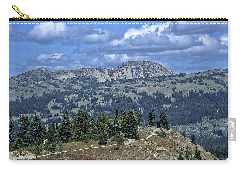 Valhalla Provincal Park Carry-all Pouch featuring the photograph Slocan Valley by Roderick Bley