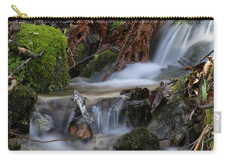 Doug Lloyd Carry-all Pouch featuring the photograph Slow Water by Doug Lloyd