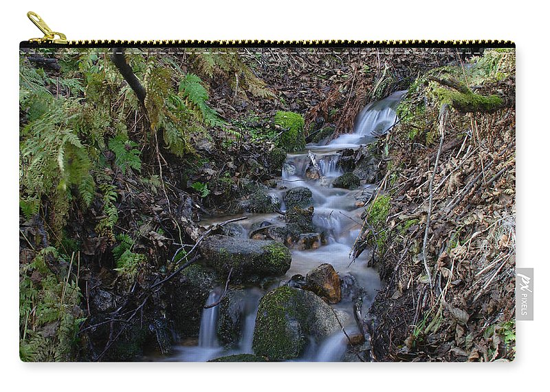 Doug Lloyd Carry-all Pouch featuring the photograph Small Creek by Doug Lloyd