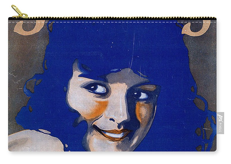 Classic Carry-all Pouch featuring the photograph Smiles by Mel Thompson