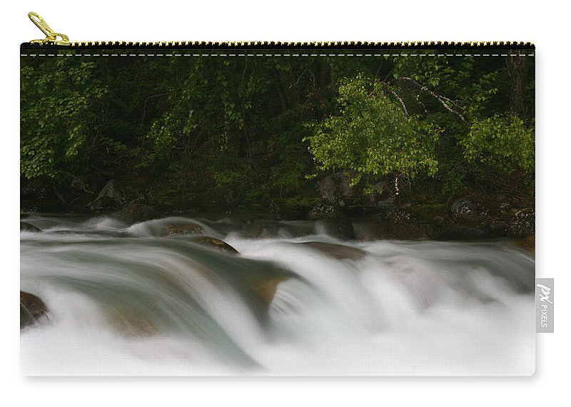 Doug Lloyd Carry-all Pouch featuring the photograph Smooth Water by Doug Lloyd