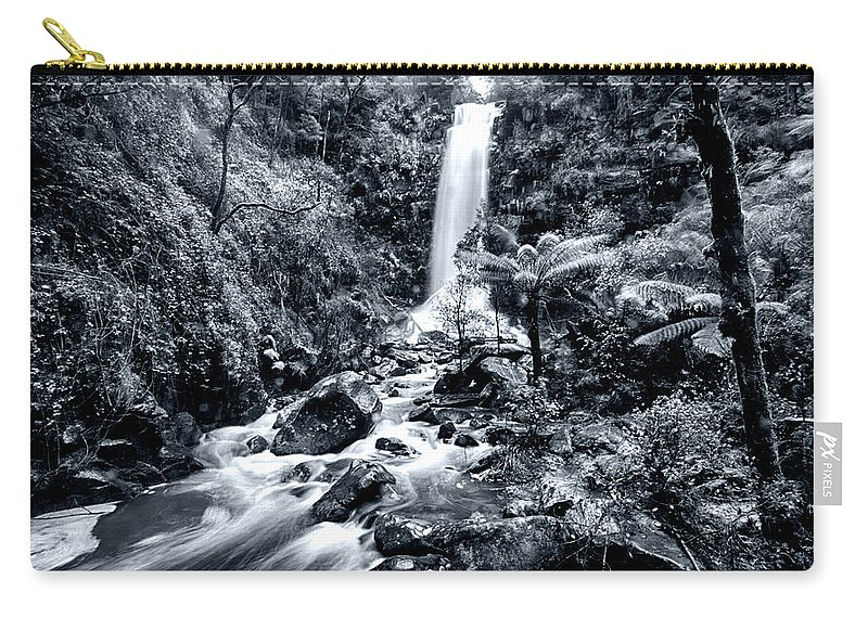 Erskine Fall Carry-all Pouch featuring the photograph Smooth Waters by Douglas Barnard