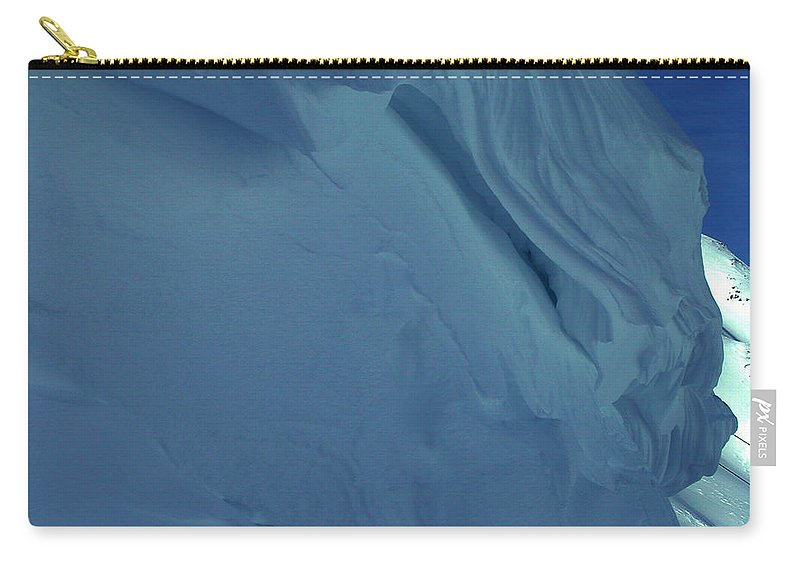 Colette Carry-all Pouch featuring the photograph Snow In Austria by Colette V Hera Guggenheim