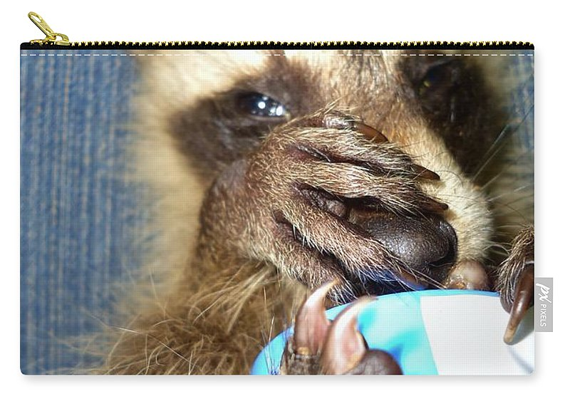 Nature Carry-all Pouch featuring the photograph Snuggle Bug by Art Dingo