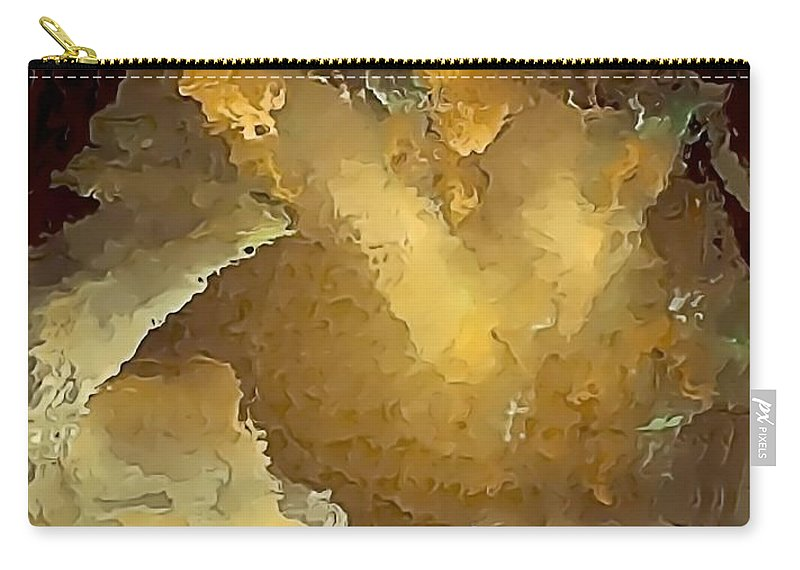 Painting Carry-all Pouch featuring the digital art Speaker by Marek Lutek
