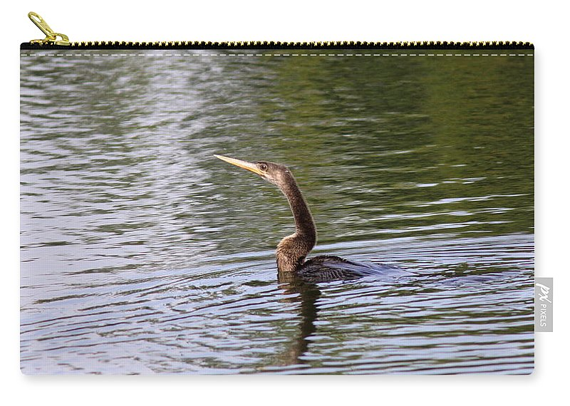 Anhinga Carry-all Pouch featuring the photograph Spear by Travis Truelove