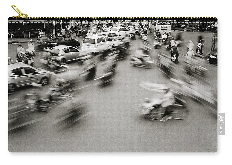 Asia Carry-all Pouch featuring the photograph Speed by Shaun Higson