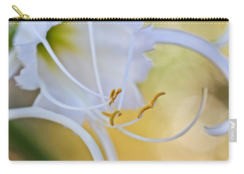 Spider Lily Carry-all Pouch featuring the photograph Spider Lily 2 by Heidi Smith