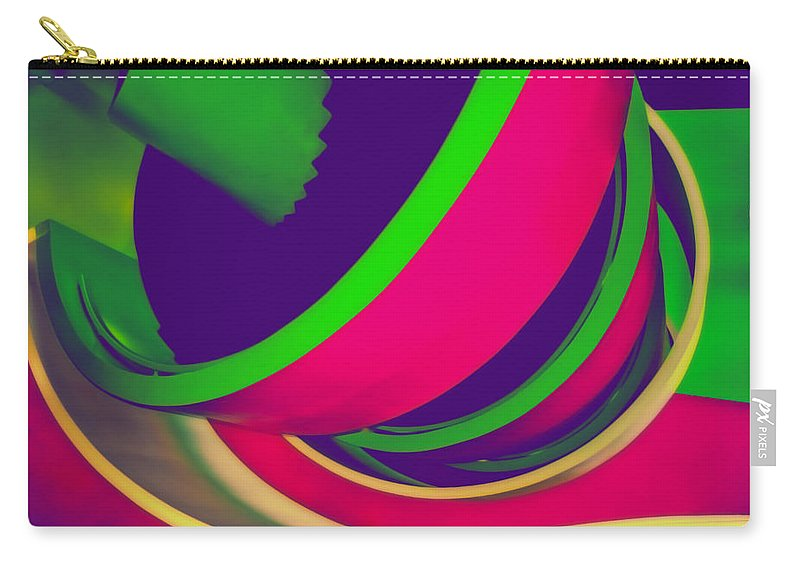 Photography Carry-all Pouch featuring the photograph Spin by Peter Benkmann