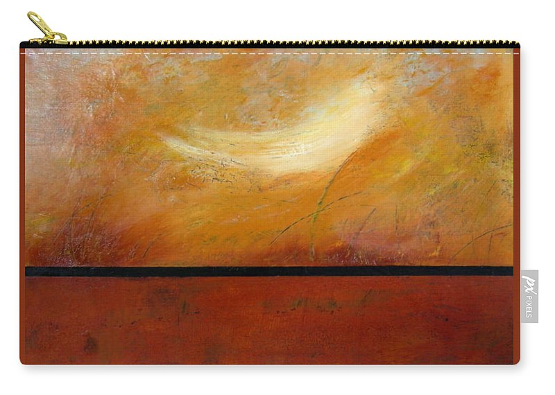 Abstract Carry-all Pouch featuring the painting Spirit Cloud by Rose Lynch