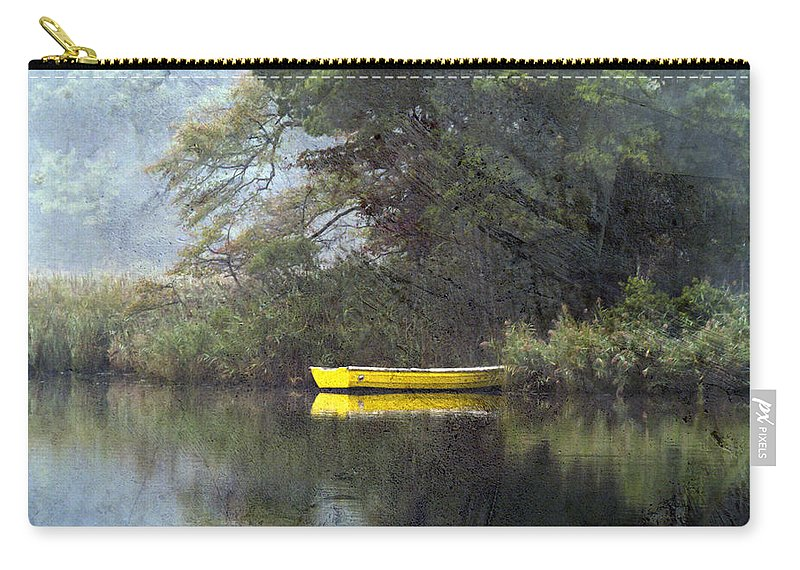 Landscape Carry-all Pouch featuring the photograph Splash Of Color by Edward Kreis
