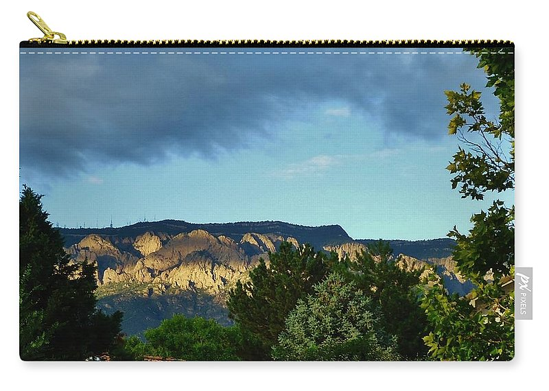 Mountains Carry-all Pouch featuring the photograph Splendor Of The Mountains by Lois  Rivera